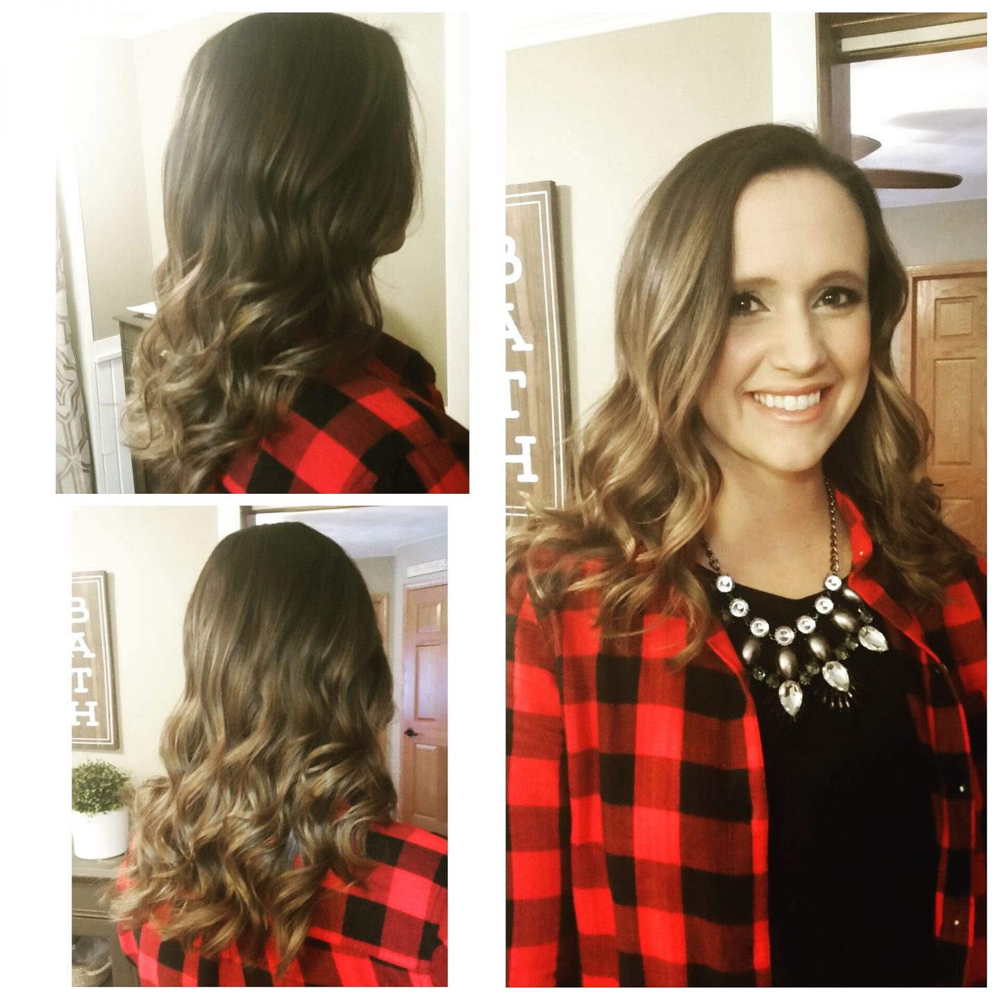 Easy Christmas Hair