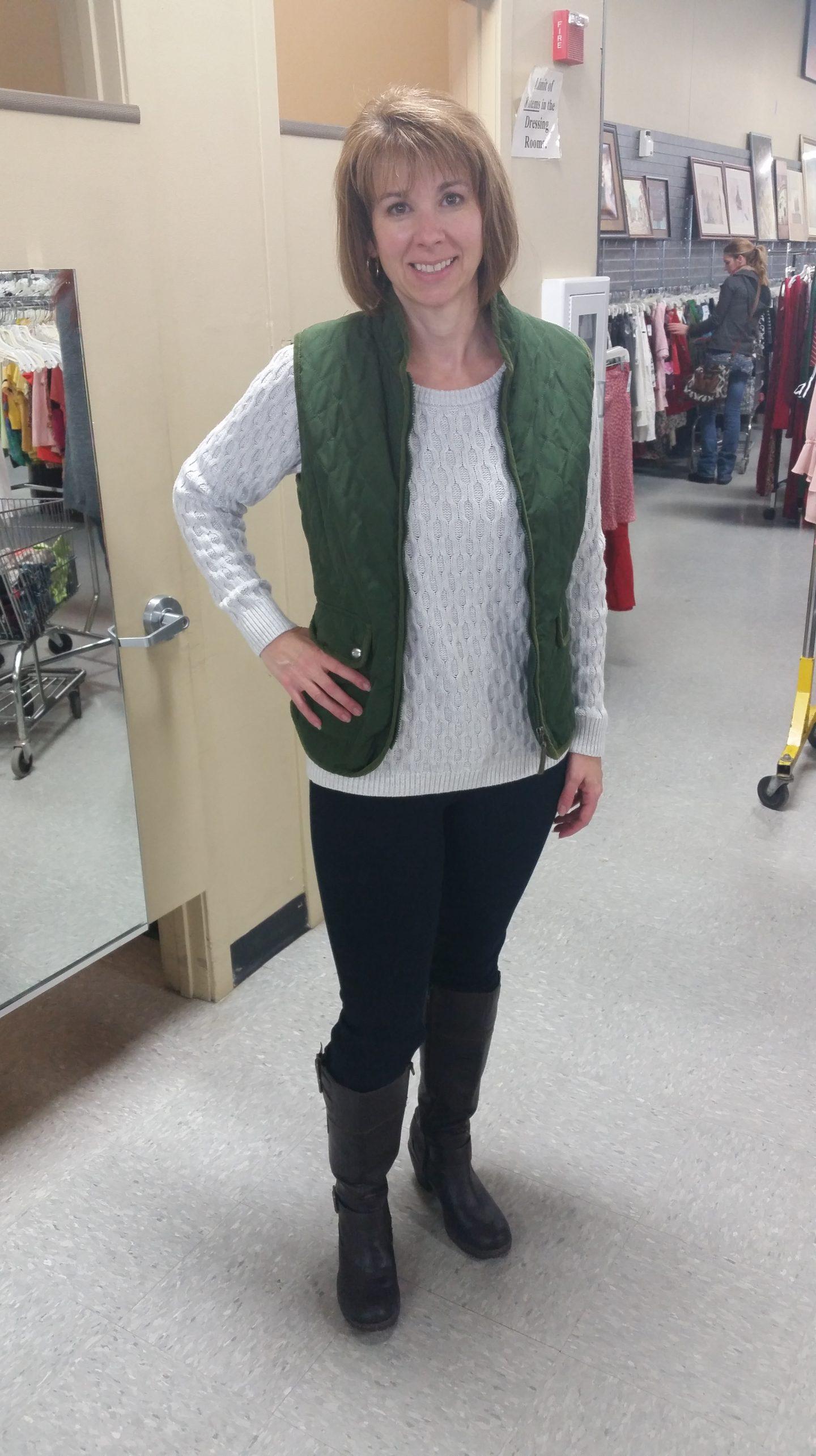 Rachel's  Wardrobe Makeover
