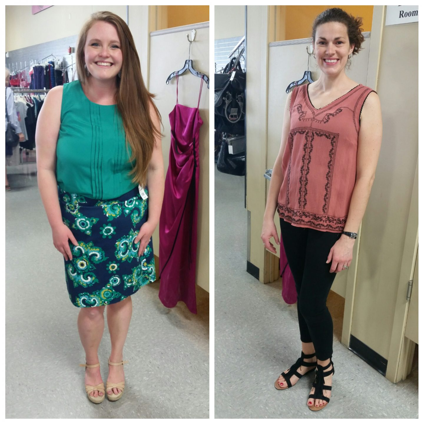 Brittany and Tami's  Wardrobe Makeover
