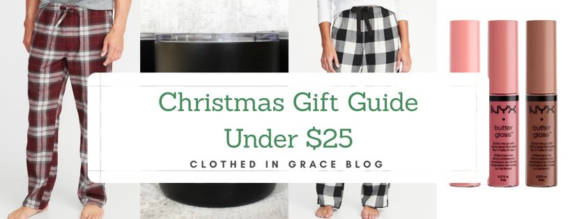 Christmas Gift Guide Under $25