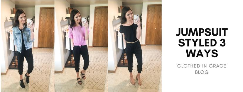Amazon Jumpsuit Styled 3 Ways