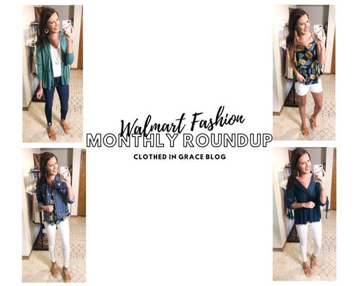 Walmart Fashion Monthly Roundup